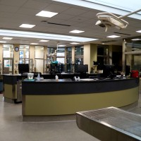 Veterinary Facility Desk