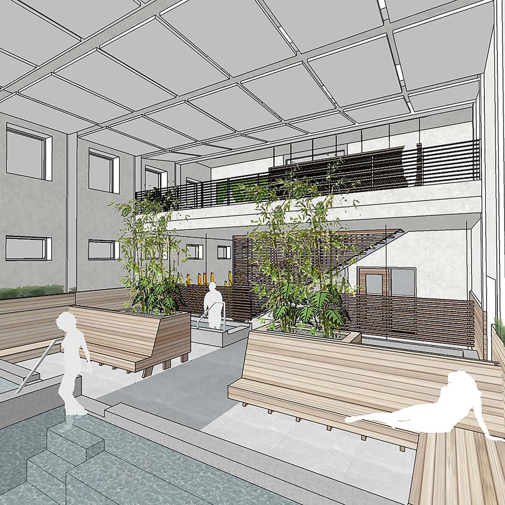 Bath House Rendering